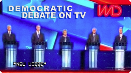 democratic debate on tv
